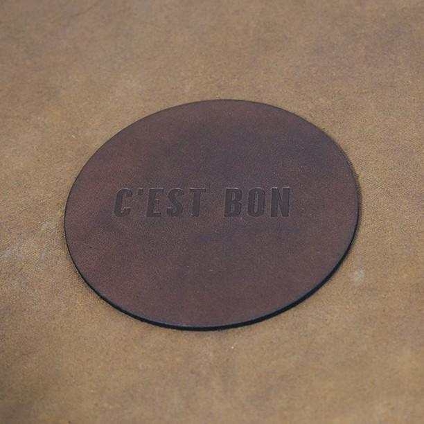 Cest Bon coaster