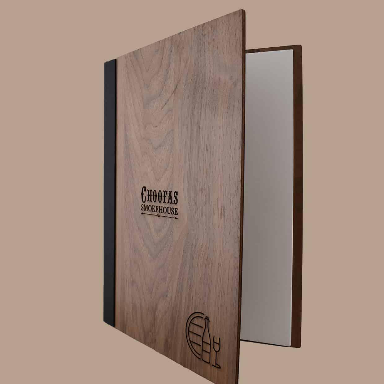 New Website Wooden Menus